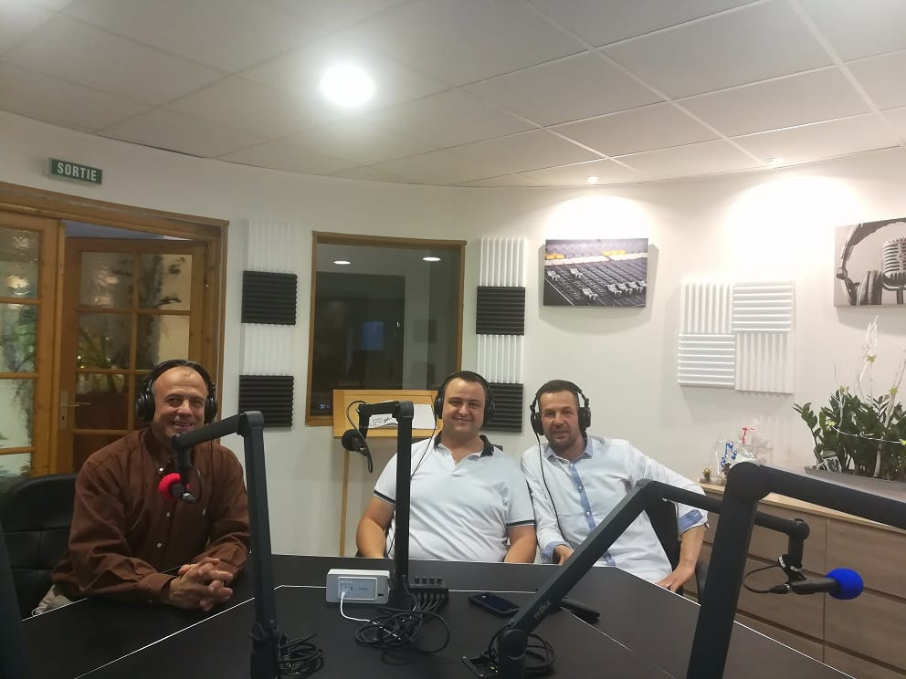 Interview sur radio RCB