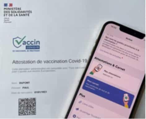 Une attestation de vaccination qui peut être importée dans TousAntiCovid Carnet